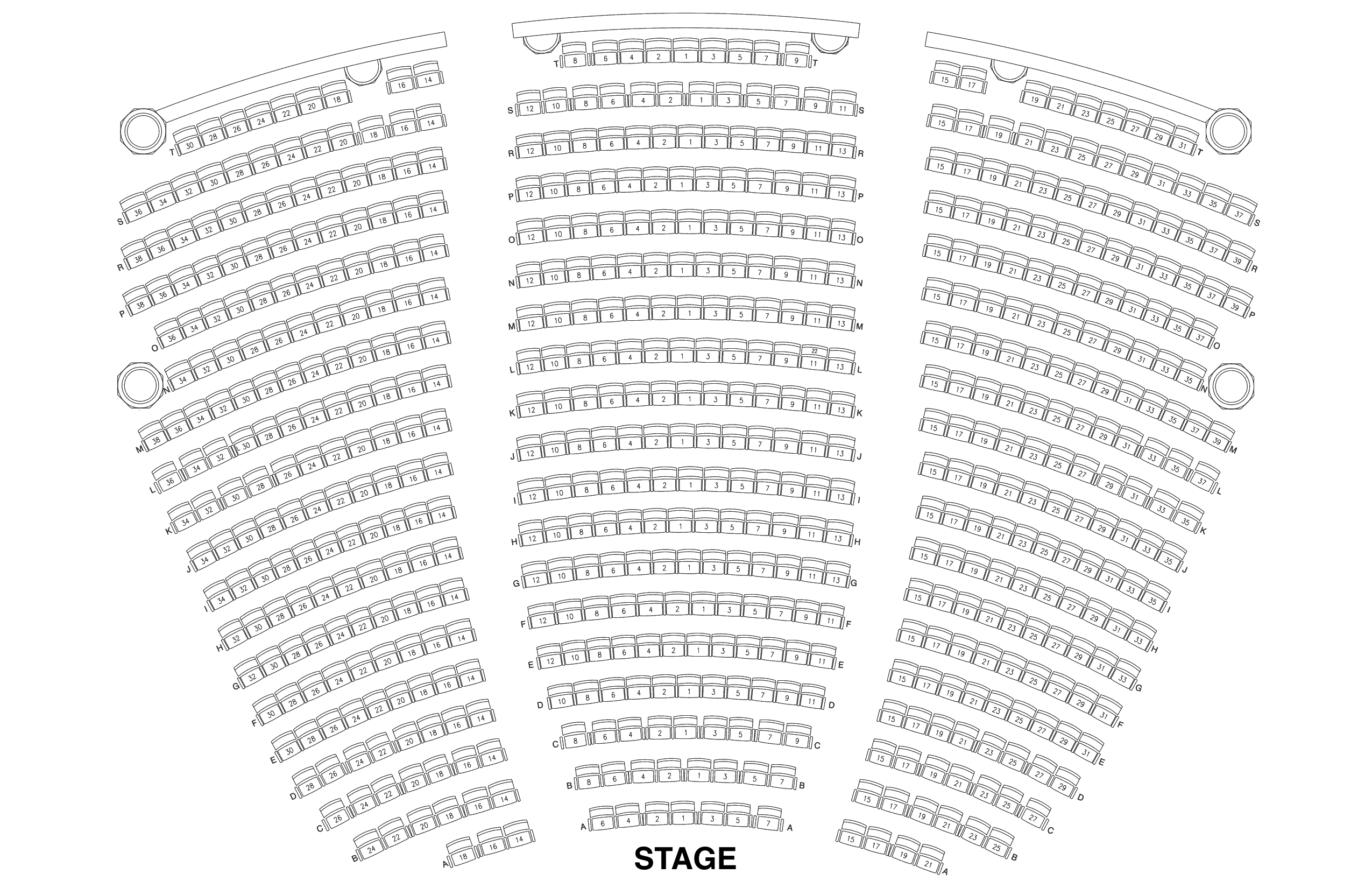 Seating Chart Lobero Theatre – Seating Chart
